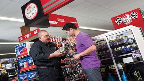 Pep Boys Speed Shops are your destination for high performance auto parts.