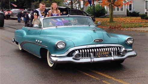 Ovid-Elsie homecoming parade