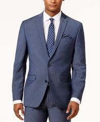 Image of Bar III Men's Slim-Fit Active Stretch Suit Jacket, Created for Macy's