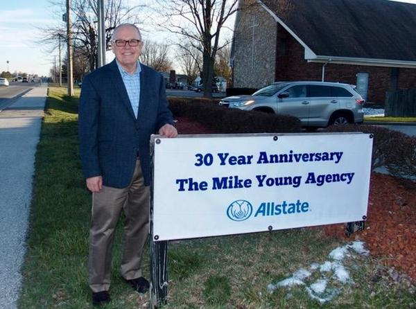 Mike Young - Celebrating 30 Years as Your Trusted Allstate advisor