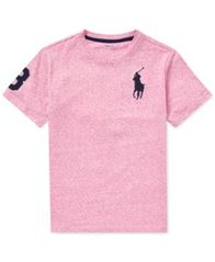 Image of Polo Ralph Lauren Big Boys Cotton T-Shirt