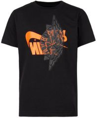 Image of Jordan Big Boys Graphic-Print Cotton T-Shirt