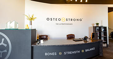 Osteo Strong front desk