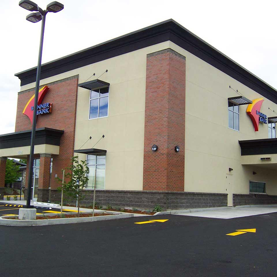 Banner Bank branch in Wenatchee, Washington