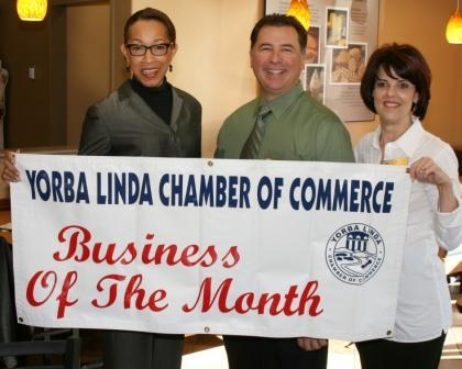 BUSINESS OF THE MONTH - YORBA LINDA CHAMBER