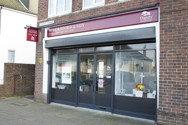 W Cornford & Son Funeral Directors in Hangleton, East Sussex.