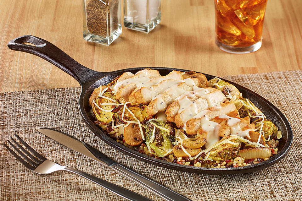 New! Parmesan Chicken Sizzlin' Skillet