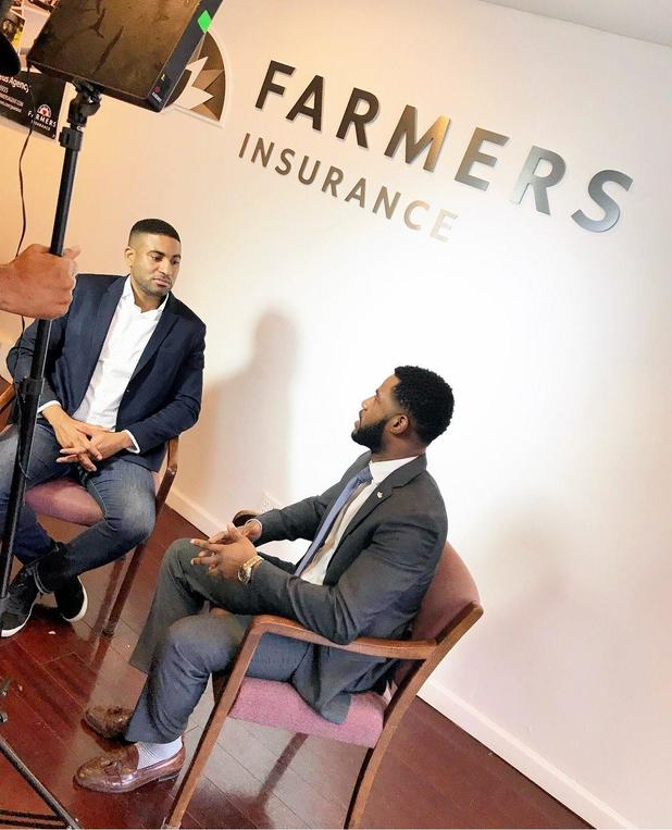Farmers Insurance interview about the real estate industry