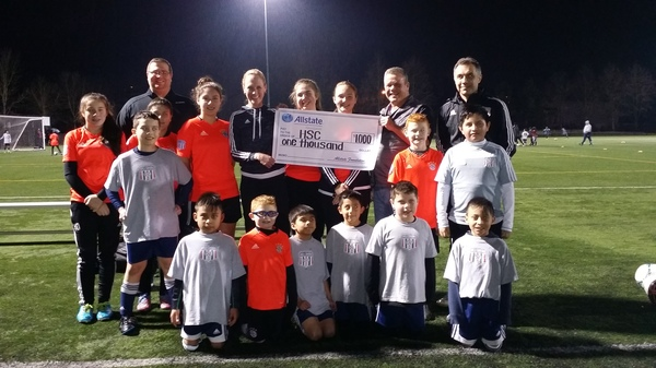 Kenneth Merrell - Hillsboro Youth Soccer Wins Allstate Grant