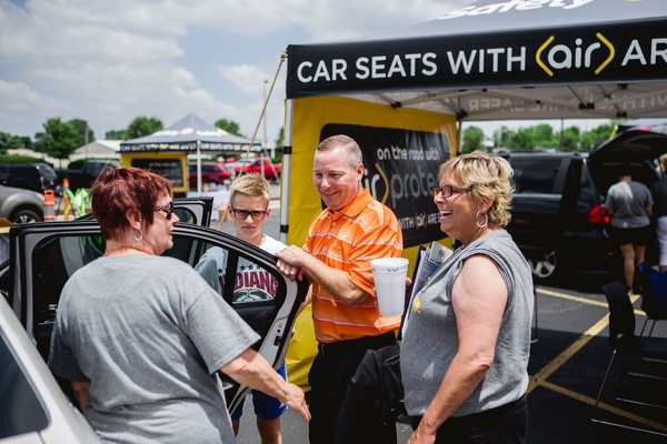 Vince Moore - Car Seat Safety event held on Friday, June 17 at Dorel Juvenile Group