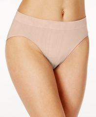 Image of Bali One Smooth U All-Over Smoothing High-Cut Brief 2362