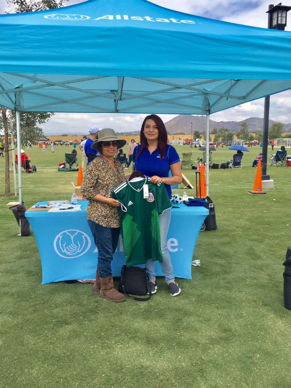 Lilia Medina - Supporting the Cerritos Memorial Challenge Cup