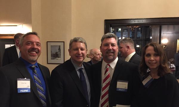 MN Legislative Session with agents and Farmers® President of Personal Lines, Roy Smith.