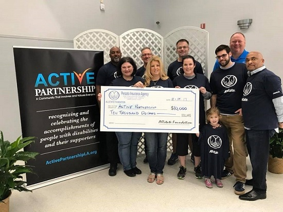 Paul Caro - Active Partnership Receives Foundation Helping Hands Grant