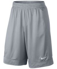 "Image of Nike Men's 11"" Fastbreak Striped Basketball Shorts"