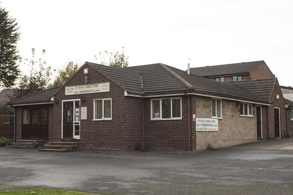 Chas Widdowson & Son Funeral Directors in Stonegravels, Chesterfield