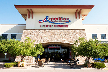 The Englewood And Parker American Furniture Warehouse Is Your Home For The  Largest Selection Of Furniture In Colorado. Customers Enjoy The Largest  Selection ...