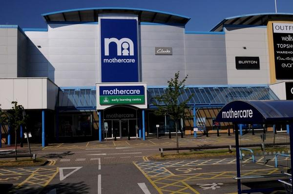 Mothercare Croydon Outside