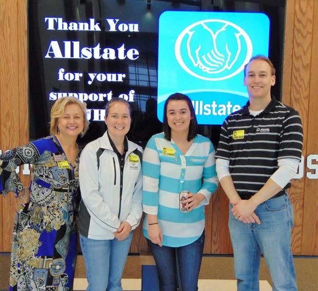 Matt Siebert - Allstate Foundation Helping Hands Grant Helps Southridge Junior High