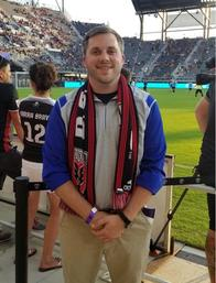 Customer Service Representative Joseph Deavers at DC United Match