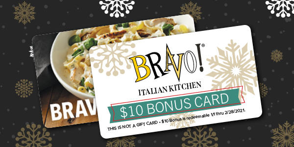Bravo Italian Kitchen - Gift Cards