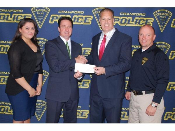 Ronald Murtha - We are happy to award the Cranford Police the Allstate Foundation $1000 grant!