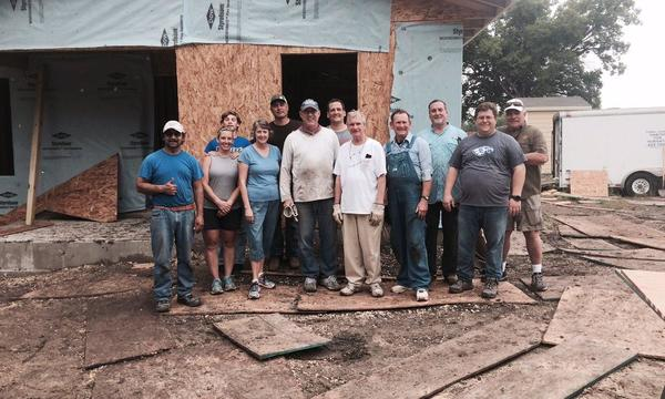 Working with Habitat for Humanity