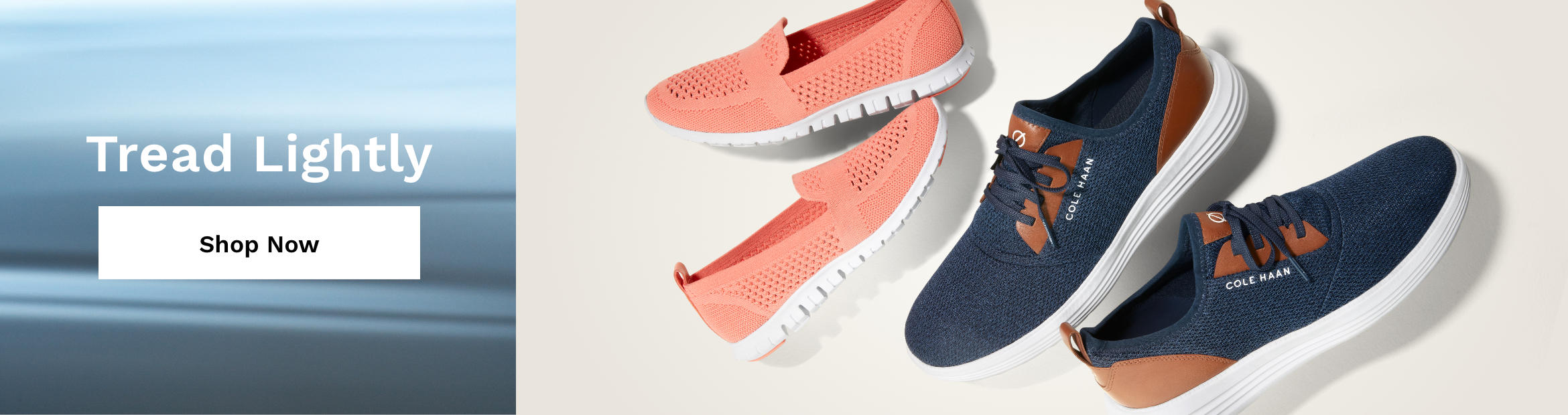 Cole Haan Promotional Banner