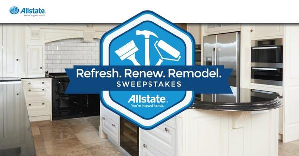Joseph Sturgis - Allstate Refresh. Renew. Remodel. Sweepstakes