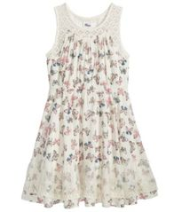 Image of Epic Threads Butterfly-Print Dress, Big Girls, Created for Macy's
