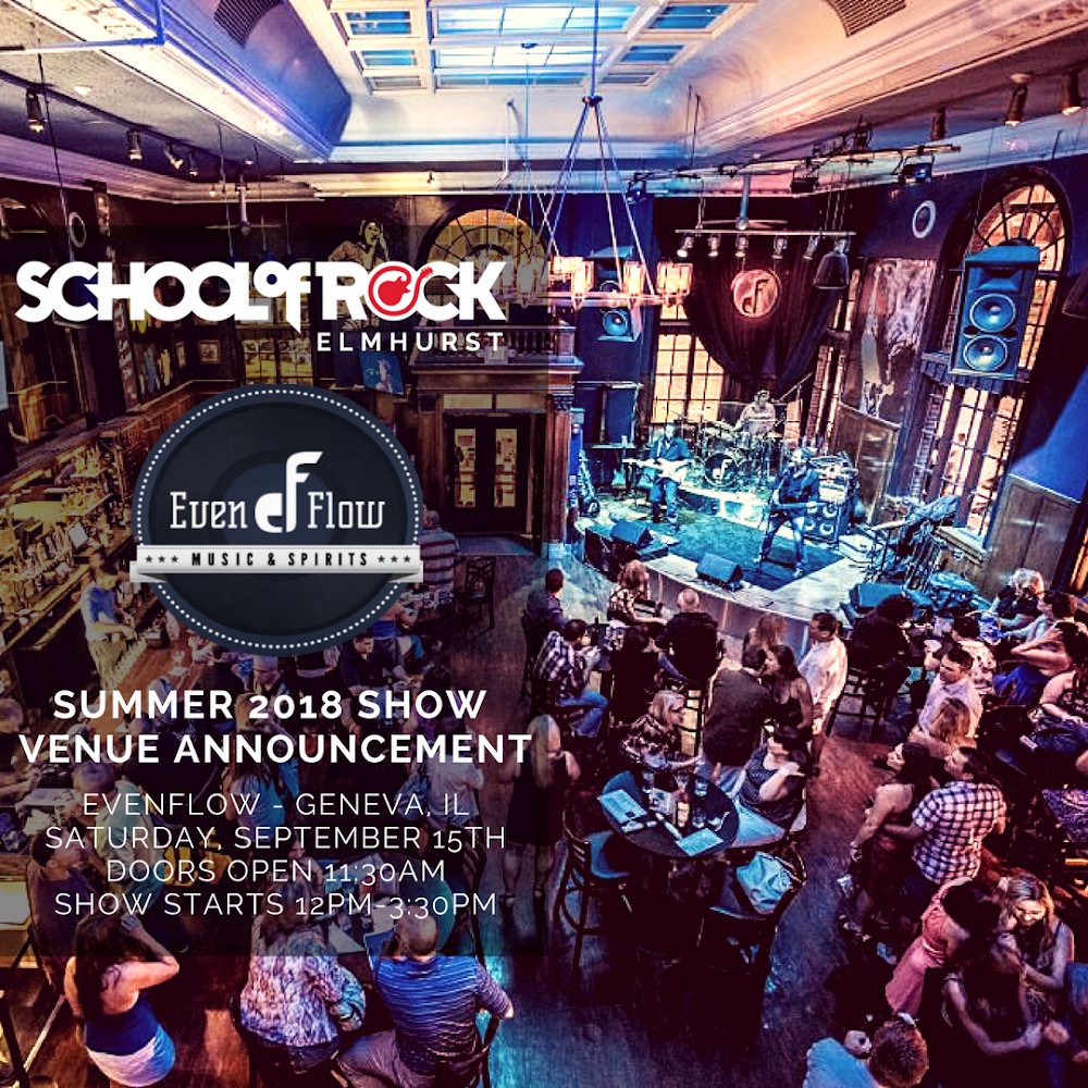 Image of Summer Season Shows at Evenflow Music & Spirits!