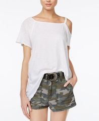 Image of Free People Coraline Cold-Shoulder T-Shirt