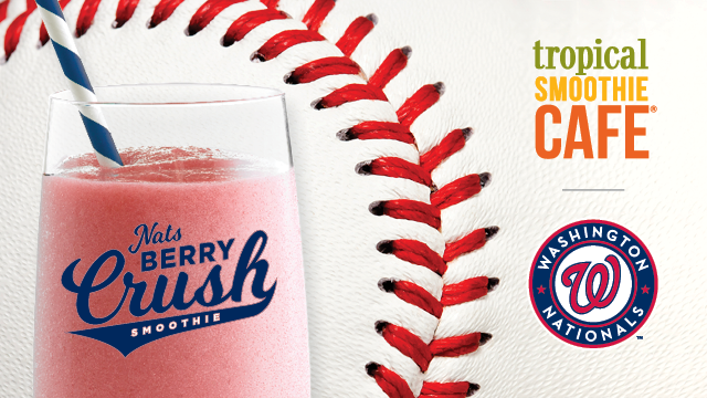 Official Smoothie of the Washington Nationals