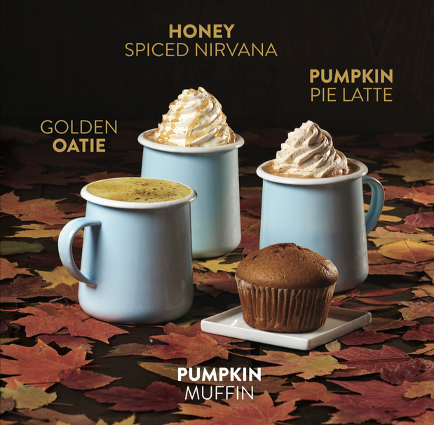 Image of Fall Drink Menu