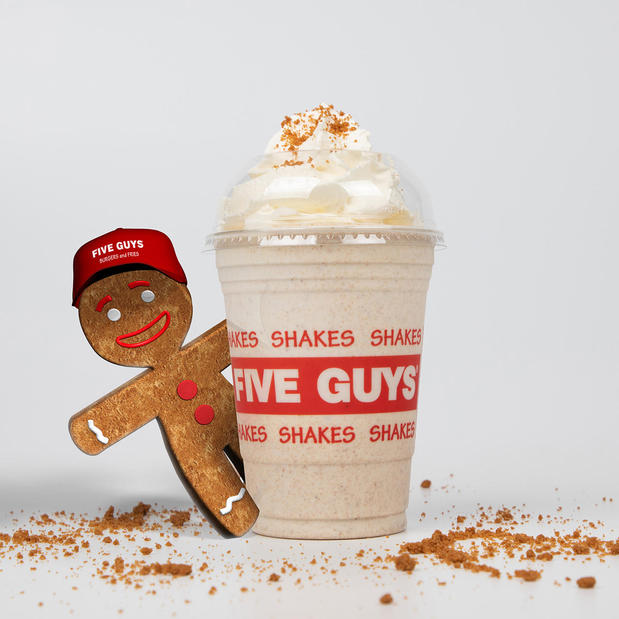New Gingerbread Shake