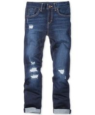 Image of Levi's® Distressed Girlfriend Jeans, Big Girls (7-16)