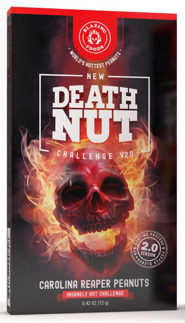 Image of Carolina Reaper Peanuts Death Nut Challenge V2.0