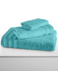 "Image of CLOSEOUT! Charter Club Classic Pima Cotton 30"" x 56"" Bath Towel, Created for Macy's"