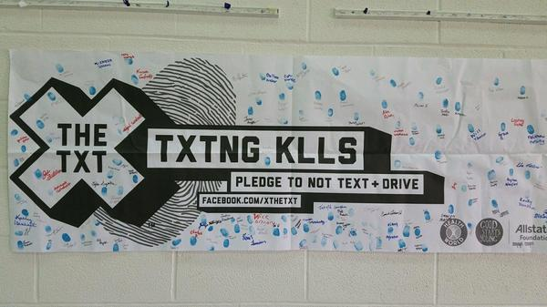 Brenda States - X the Text at Keystone High School