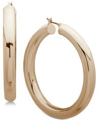Image of Anne Klein Hoop Earrings