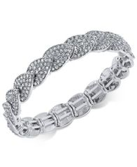 Image of I.N.C. Pavé Stretch Bracelet, Created for Macy's