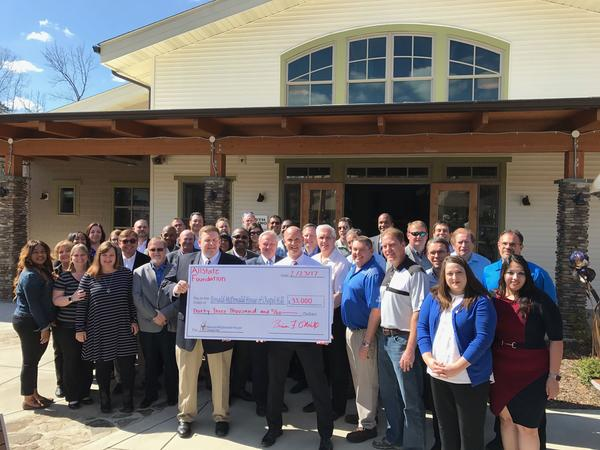Herbert Brinskelle - Allstate Foundation Helping Hands Grant for Ronald McDonald House