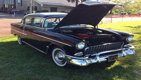 My 1955 Chevy Bel-Air, I own one and can insure them!  Call me today about your classic vehicles!