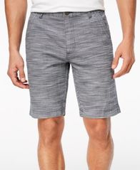 Image of I.N.C. Men's Flat-Front Texture-Stripe Shorts, Created for Macy's