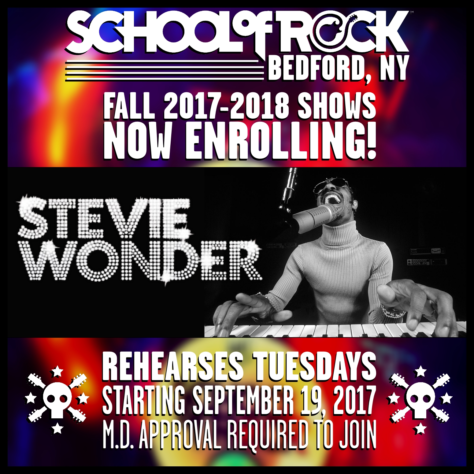 Image of FALL 2017-2018 SHOW #1: STEVIE WONDER