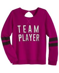 Image of Ideology Team Player Sweatshirt, Big Girls (7-16), Created for Macy's