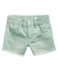Image of Celebrity Pink Super Soft Color Denim Shorts, Little Girls