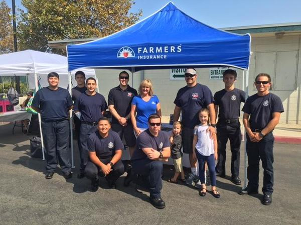 We support our local heroes,  Upland Fire Fighters and Fire Explorers. Thank you for all you do!