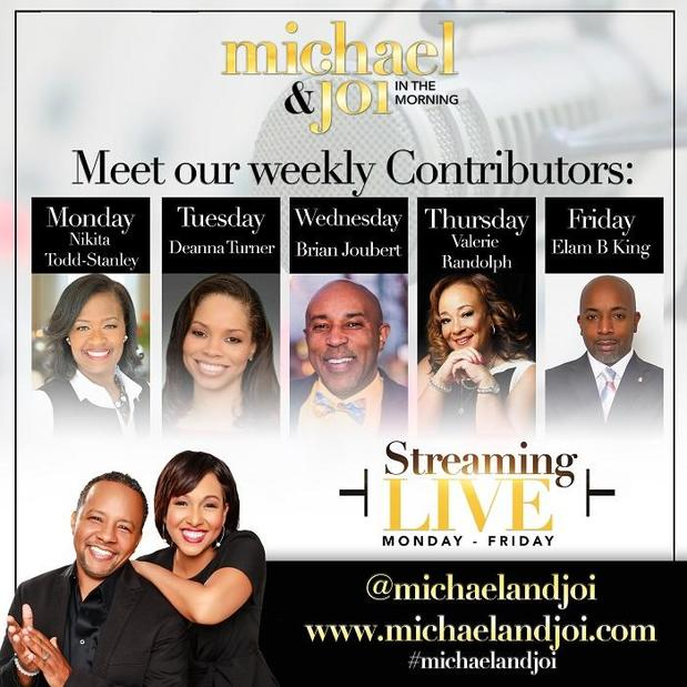 Valerie Randolph - Weekly Contributor on Michael and Joi in the Morning Radio Show