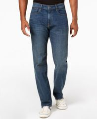 Image of Tommy Hilfiger Men's Relaxed Fit Stretch Jeans, Created for Macy's